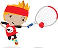 Mini Tennis Red